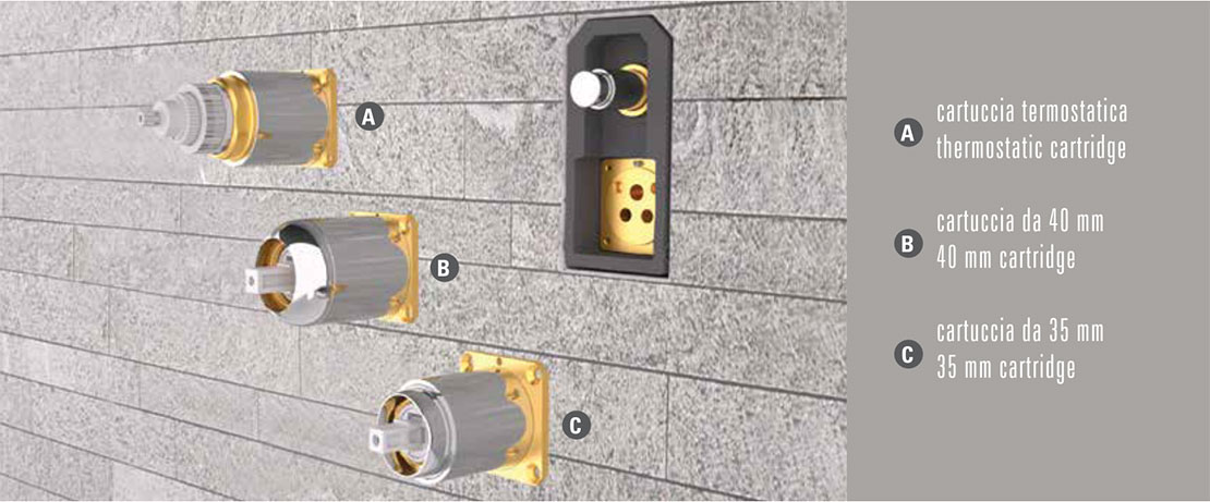 Value 4 Box Doccia.Daniel Rubinetterie S P A Box For Built In Faucets