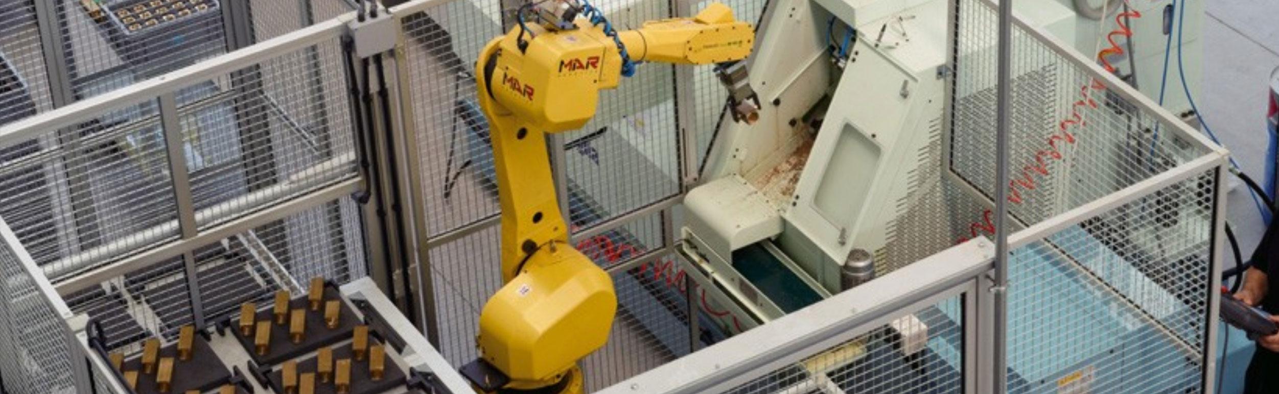 torneria robotizzata