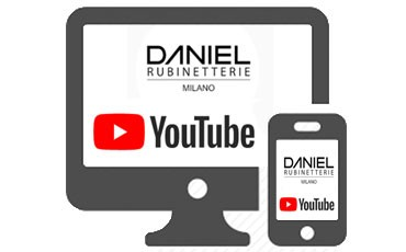 Subscribe to our Youtube Channel: Daniel Rubinetterie Milano